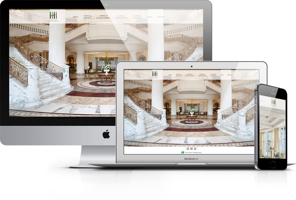 Habtoor Hospitality and Restaurants Websites – Amber Jabeen